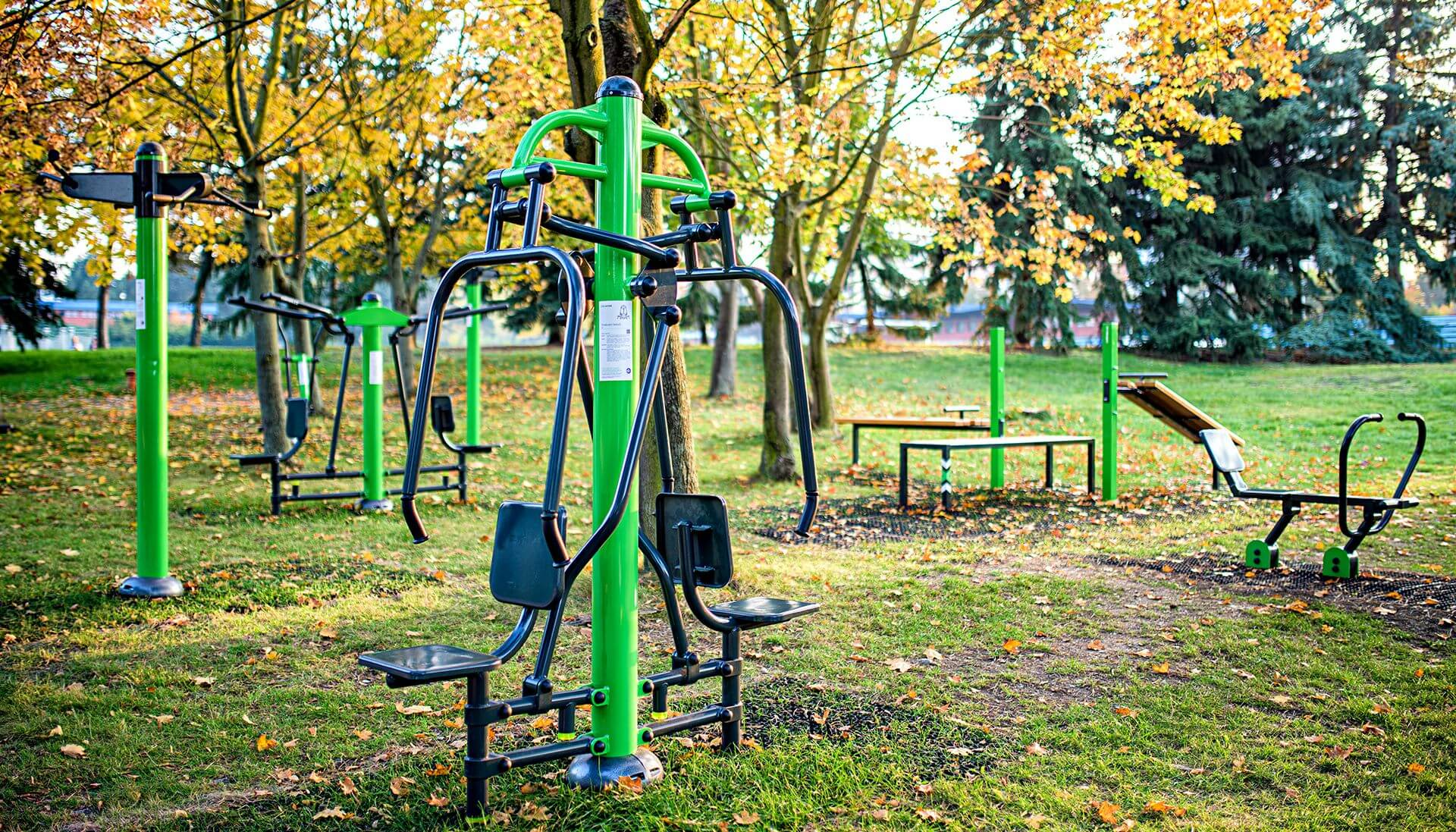 Green Outdoor Gym
